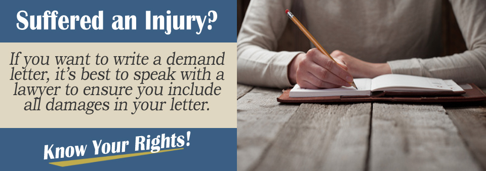 How can an attorney help me with a demand letter?