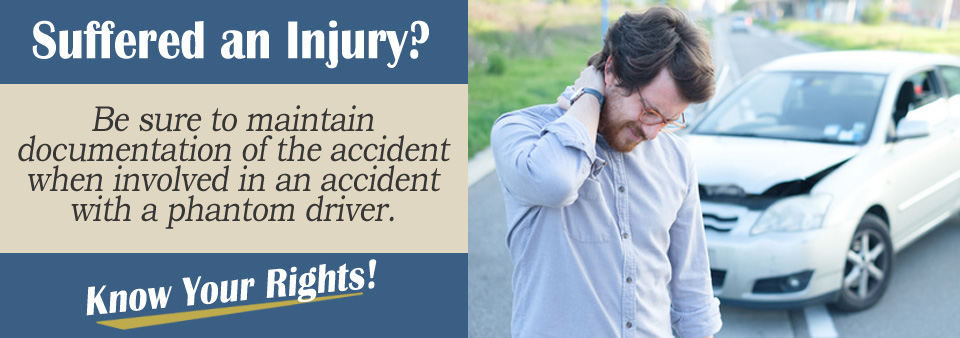 What Details Need to Be Exchanged in Phantom Vehicle Accident?