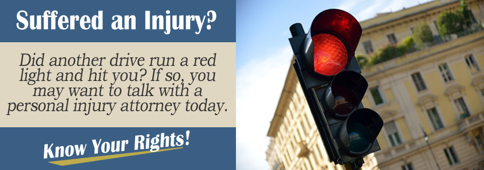 What Should I do if Someone Ran a Red Light and Hit Me?