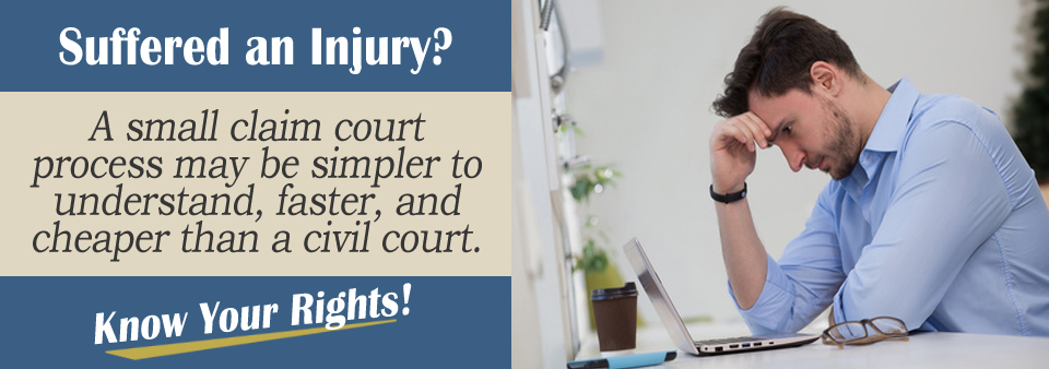 Wondering if you should file in a small claims court?