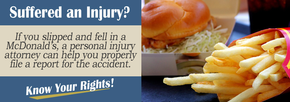 How Do I File a Slip and Fall McDonald's* Accident Report?
