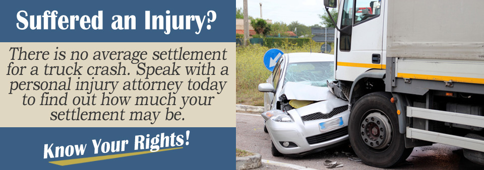 What's The Average Settlement for a Truck Crash?