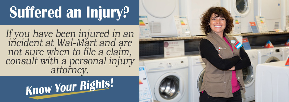How Long After My Injury Should I File A Claim Against Wal-Mart?*