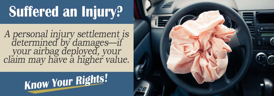 A Lawyer Explains How Airbag Deployment may change your personal injury case