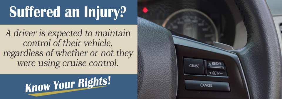 Cruise Control Should Not Be Used >> Is My Claim Affected If The Other Driver Enabled Cruise Control