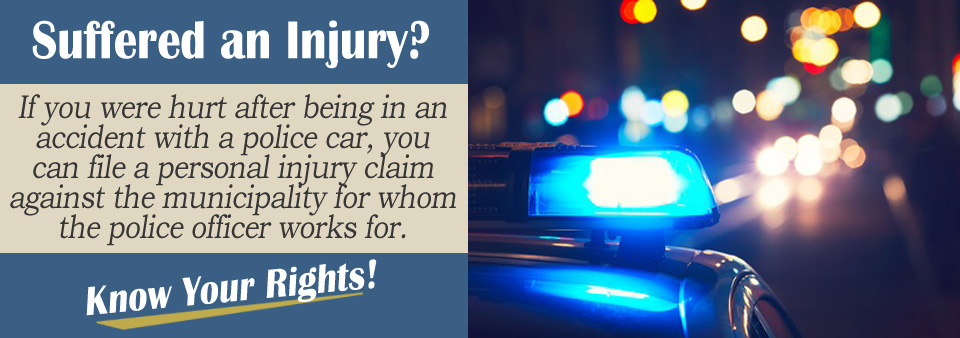Will a Lawyer Take my Case if I Was Hit by a Police Car?