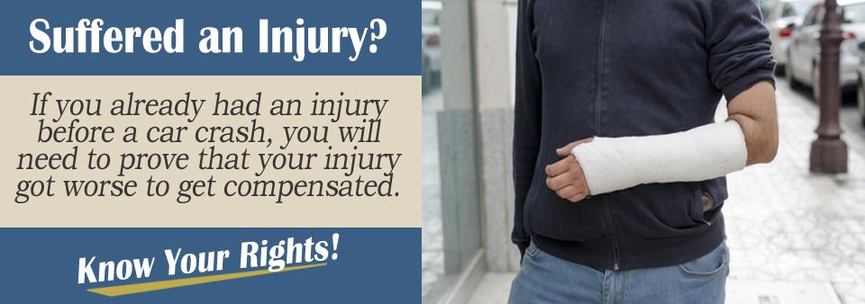 Already injured?