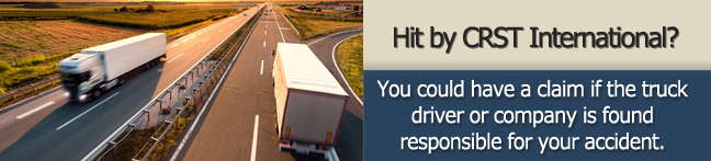 How to Proceed After a CRST International Truck Accident*