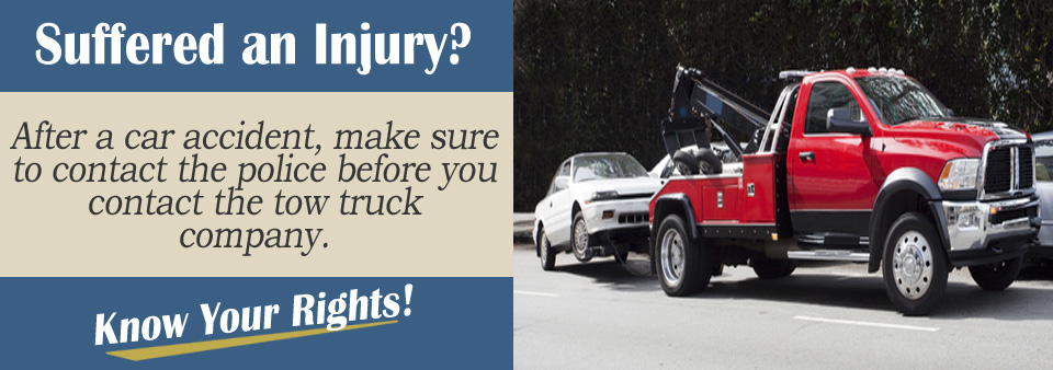 Tips For Dealing With a Tow Truck After An Accident