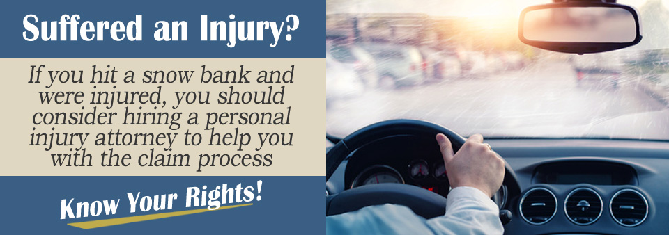 snow bank personal injury