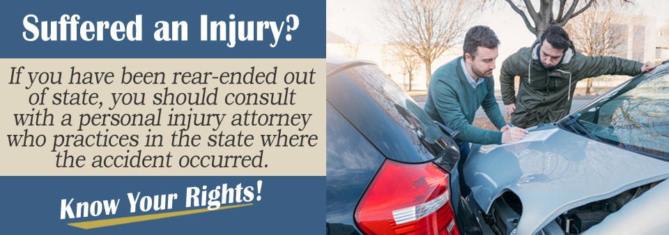 What If I Was Rear-Ended Out of State?