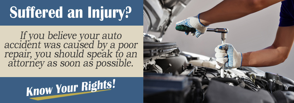 Did a faulty repair cause your crash?