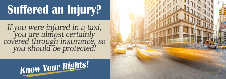 Injured in a taxi?