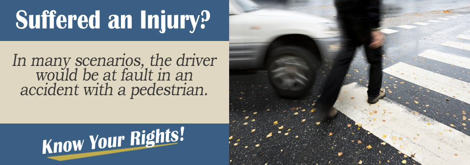 Auto Accident Scenario Tips - Who is at Fault in a Pedestrian Accident?
