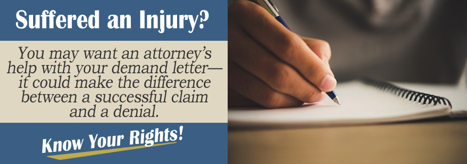 Why should I speak with an attorney about a demand letter?