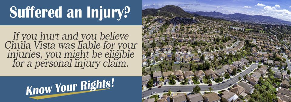 Filing a PI Claim Against the City of Chula Vista, CA*