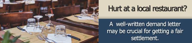 local-restaurant-demand-letter