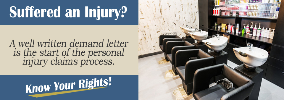 Sample Demand Letter — Salon Accident | www.personalinjury-law.com