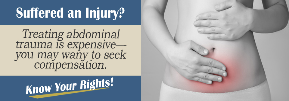 Abdominal Injury From an Auto Accident
