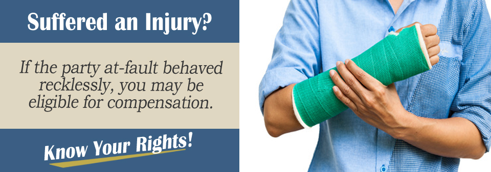 A Broken Arm From an Auto Accident