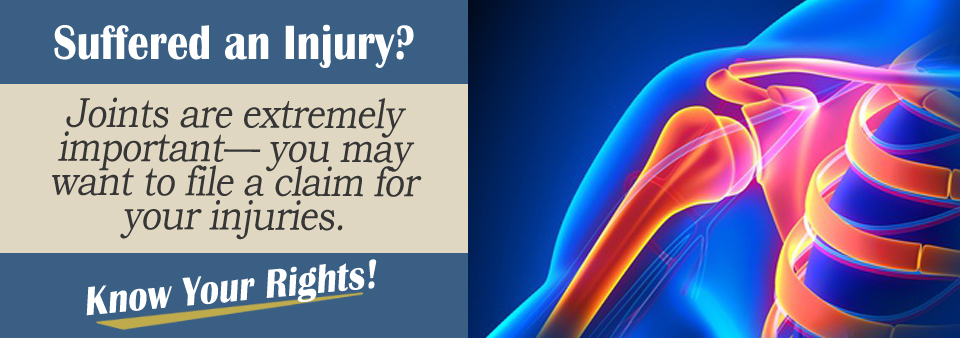 Dislocated Joint Personal Injury Lawyer
