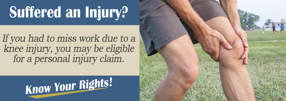 Knee injury after an accident?