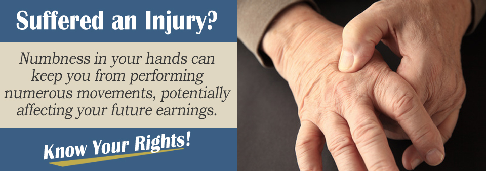 Numbness or Loss of Feeling From an Auto Accident