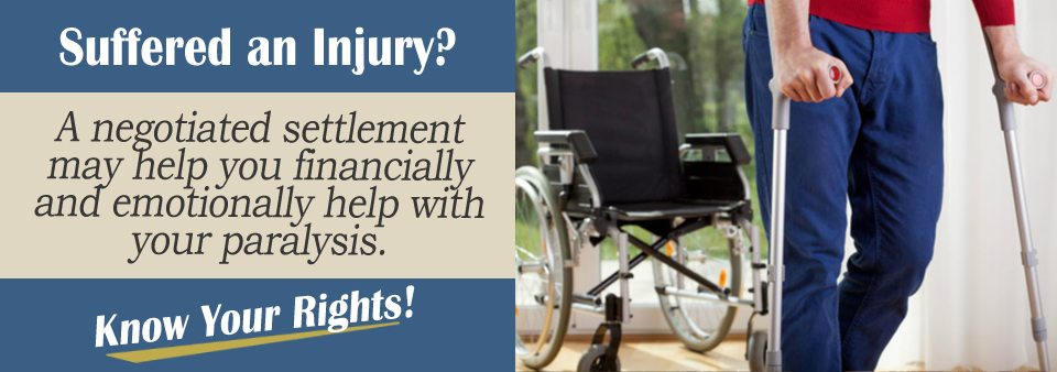 Paralysis From an Auto Accident