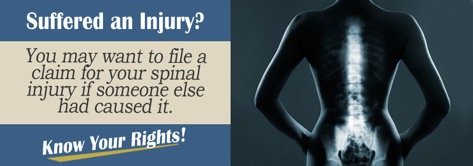 Spinal Injury Personal Injury Lawyer