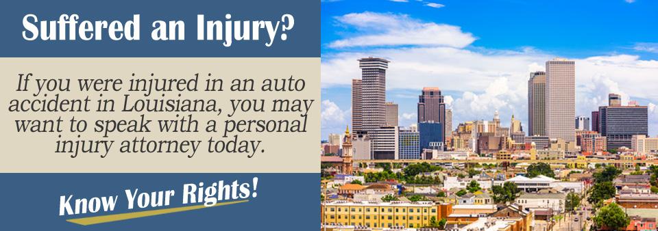 Louisiana Personal Injury Attorney