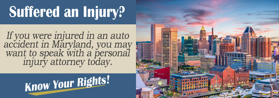 Maryland Personal Injury Attorney