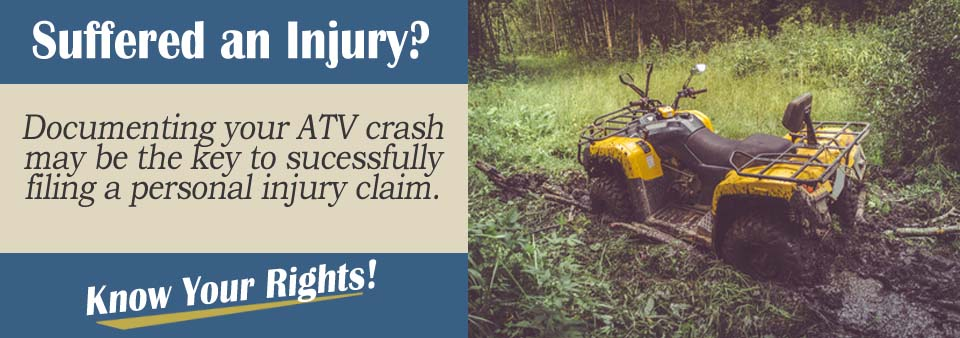 Preserving ATV Accident Evidence Personal Injury