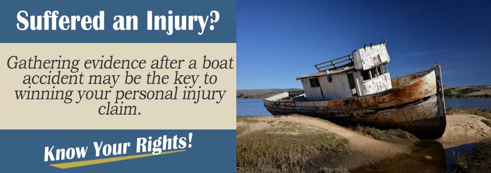 Collecting Evidence from Boat Crash Personal Injury Lawyer