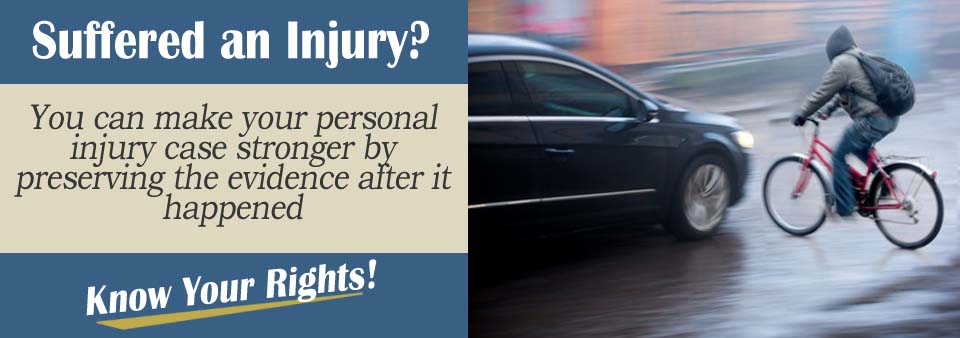Documenting Cyclist Crash Personal Injury Lawyer