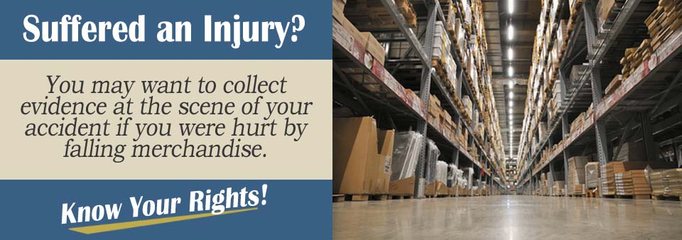 Preserving Falling Merchandise Evidence Personal Injury