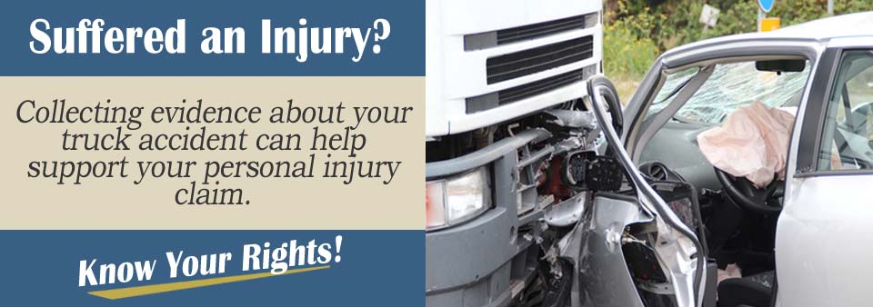 Preserving Truck Accident Evidence Personal Injury