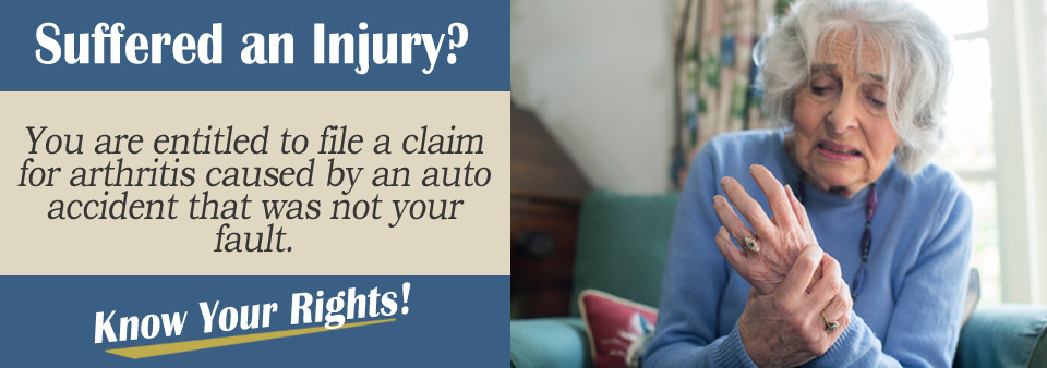 Can Auto Accidents Cause Arthritis?