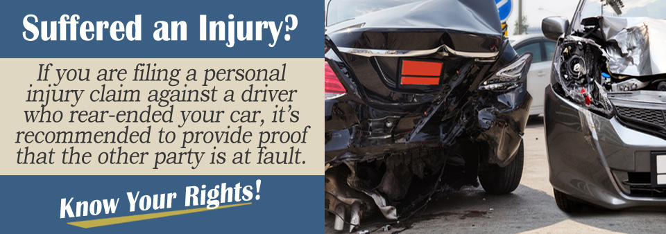 Filing a Claim Against Someone Who Rear-Ended You