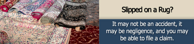 Torn rug Personal Injury Lawyer