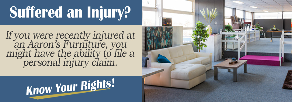 Slip And Fall Injuries In An Aaron S Furniture Store