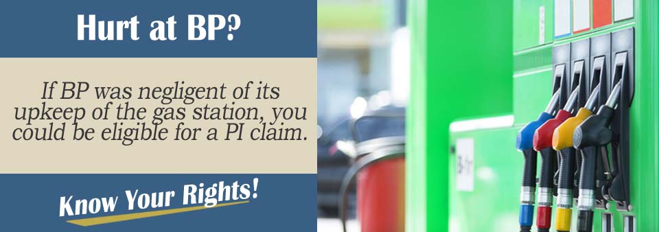 Slip and Fall Injuries in a BP Gas Station*