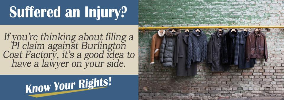 How To File A Claim Against Burlington Coat Factory